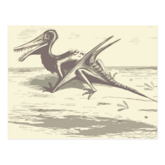 Dinosaurio: Rhamphorhynchus Tarjeta Postal
