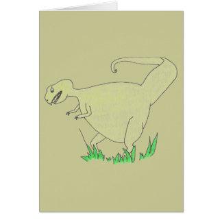 Dinosaurio Tarjeton