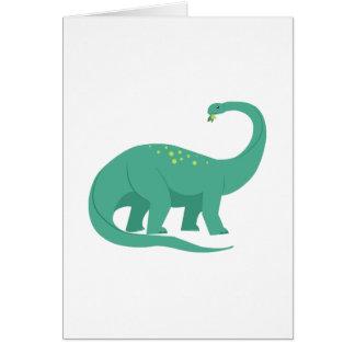 Dinosaurio Tarjeta