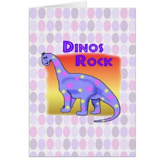 Dinosaurio Tarjeta De Felicitación