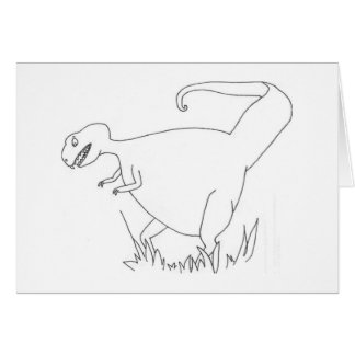 Dinosaurio Felicitaciones