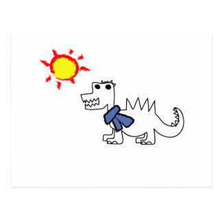 Dinosaurio Tarjeta Postal