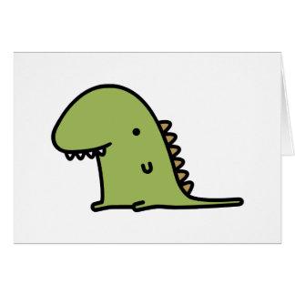Dinosaurio Tarjetas