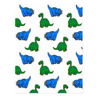 dinosaurio tarjetas postales