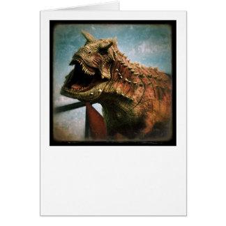 Dinosaurio Tarjetón