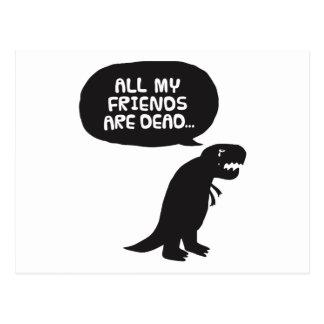 Dinosaurio triste
