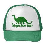 Dinosaurio vegetariano gorras de camionero