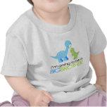 Dinosaurio voy a ser un hermano mayor camiseta