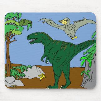 Dinosaurios Alfombrilla De Ratón