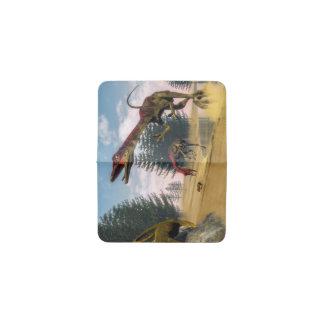Dinosaurios de Compsognathus - 3D rinden Tarjetero