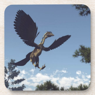 Dinosaurios de los pájaros del Archaeopteryx que Posavasos