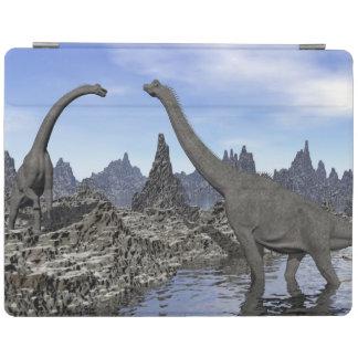 Dinosaurios del Brachiosaurus - 3D rinden Cubierta De iPad