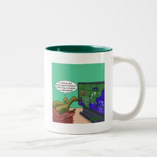 Dinosaurios del cambio de clima tazas
