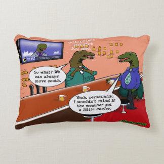 Dinosaurios en dibujo animado del cambio de clima