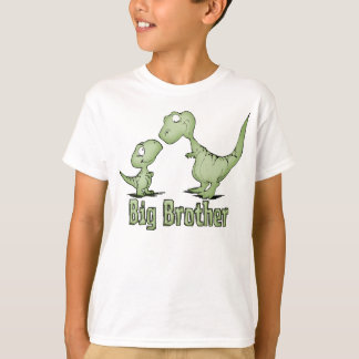 Dinosaurios hermano mayor camiseta