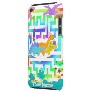 Dinosaurios lindos en caso del tacto de iPod del Funda Para iPod De Barely There