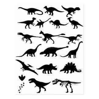 Dinosaurios Tarjetas Postales