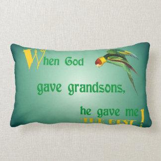 dios 45When dio a nietos la almohada