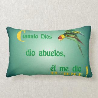 dios 50When dio Abuelos Cojines