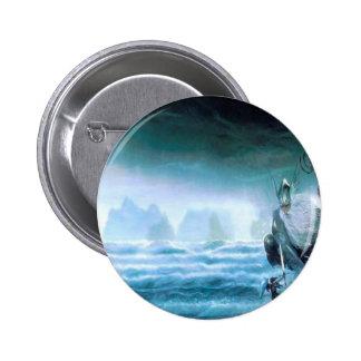 Dios abstracto la Atlántida del agua de la fantasí Pins