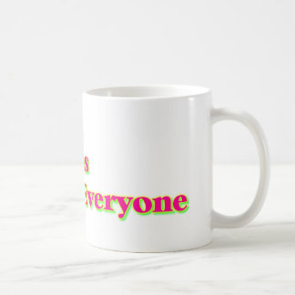 Dios ama cada uno taza