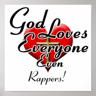 ¡Dios ama golpeadores! Poster