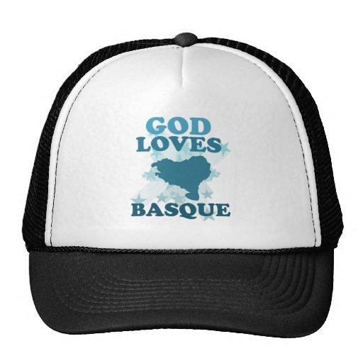Dios ama vasco gorras de camionero