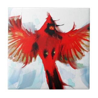 Dios amó los pájaros azulejo de cerámica