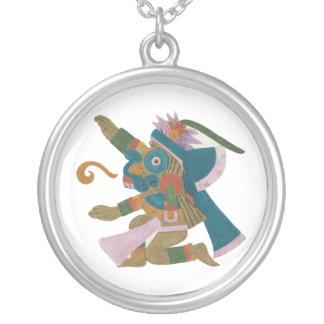 Dios azteca del creador - 08 - Tlaloc - collar