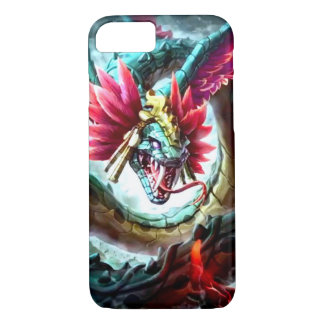 Dios azteca Quetzalcoatl Funda iPhone 7
