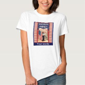 Dios bendice América, Camisetas