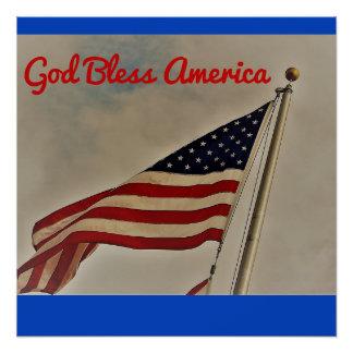 Dios bendice el poster de América