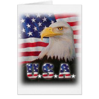 ¡Dios bendice los E.E.U.U.! Tarjeta De Felicitación