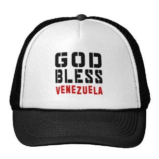 Dios bendice Venezuela Gorros Bordados
