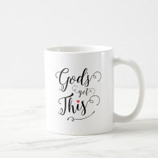 ¡Dios conseguido esto! Taza De Café