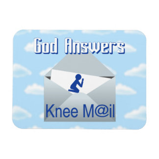 Dios contesta al imán del regalo del correo de la