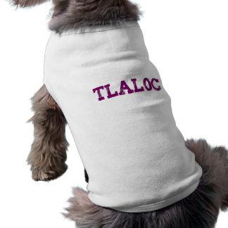 Dios de azteca aztec god Tlaloc Camiseta Sin Mangas Para Perro