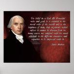 Dios de James Madison Impresiones