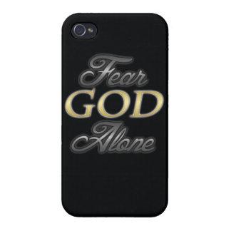 Dios del miedo solo iPhone 4 cobertura
