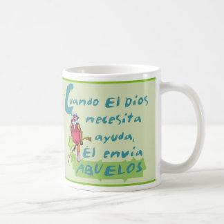 Dios Envía Para MI Grandpa© Taza De Café