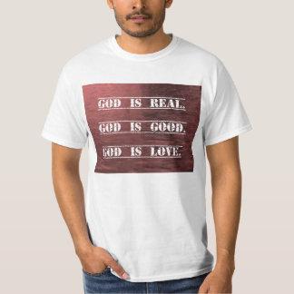 Dios es amor camiseta