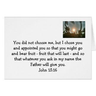 Dios es bueno tarjeta pequeña