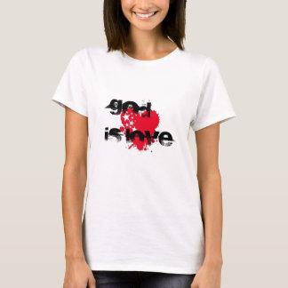 Dios es camiseta love~christian