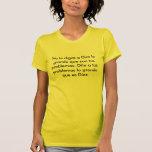 Dios es grande camisetas