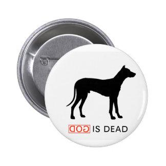 Dios es insignia muerta pins