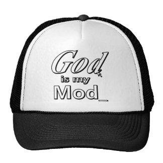 Dios es mi MOD Gorro De Camionero