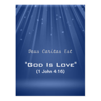 """""""Dios es postal de encargo del amor"""""""