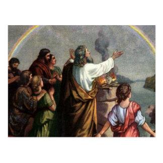 Dios hace una promesa a Noah Postales