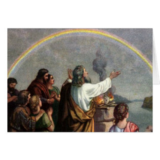 Dios hace una promesa a Noah Tarjetón