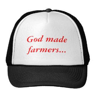 Dios hizo a los granjeros… gorra, casquillo gorros